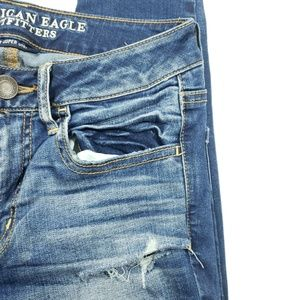 American Eagle Outfitters Pants - American Eagle Womens distressed skinny jegging